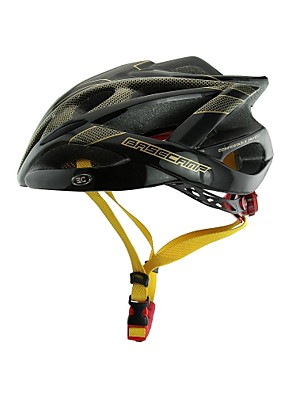 basecamp® bc-007 הגעה חדשה לשדרג את איכות גבוהה שחורה קסדת אופני מתכוונן האולטרה יצוקה אינטגרלי + זהב