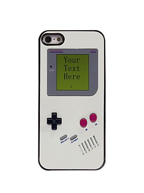 Personalized Gift Game Console Design Metal Case for iPhone 5/5S