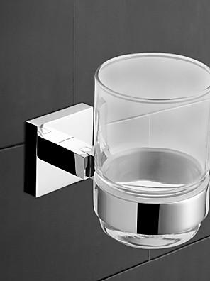 YALI.M®,Tandbørsteholder Krom Vægmonteret Messing Moderne