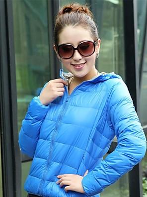 Női Női kabát / Téli kabát / Felsők Télisportok Melegen tartani / Könnyű anyagok Tavasz / Ősz / TélS / M / L / XL