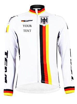KOOPLUS® Cyklo bunda Dámské / Pánské / Unisex Dlouhé rukávy Jezdit na koleProdyšné / Zahřívací / Zateplená podšívka / Voděodolný zip /