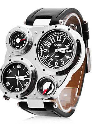 אזורי הזמן של הגברים אופנתיים אישית רב-תכליתי צבאי שעון הכפול מצפן ומד חום