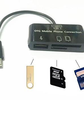 alt i en micro sd kortlæser adapter micro usb OTG kabel til OTG telefon