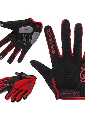 WEST אופניים® כפפות ספורט/ פעילות לגברים כפפות רכיבה סתיו / חורף כפפות אופנייםשמור על חום הגוף / נגד החלקה / עמיד למים / נושם / עמיד בפני