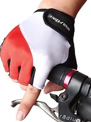 WOLFBIKE® Luvas Esportivas Homens Luvas de Ciclismo Luvas para Ciclismo Anti-Derrapagem Sem Dedo Luvas de Ciclismo Ciclismo