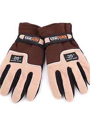 lyžařské rukavice Celý prst / Zimní rukavice Pánské Akvitita a sport Zahřívací Cyklistika / Lyže VlnaCyklistické rukavice / Lyžařské
