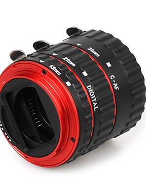 színes fém elektronikus TTL automatikus fókusz fókusz AF makró hosszabbító cső gyűrű Canon EOS EF EF-S 60d 7d 5d ii 550D