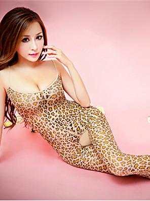SKLV Women's Spandex Ultra Leopard Print Sexy/Teddy Nightwear/Lingerie