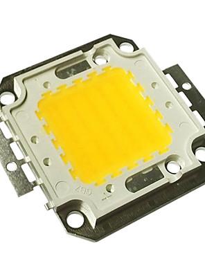jiawen® 50w 4000-4500lm 3000k warm wit led-chip (dc 30-33v)
