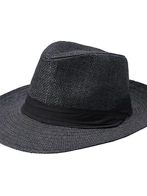 יוניסקס יומיומי קיץ קש כובע מגבעת