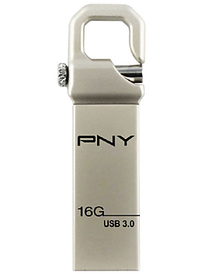PNY haak attaché usb 3.0 16gb flash pen drive metalen stijl