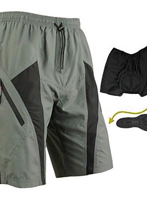 SANTIC® Cykelshorts Herre Cykel Åndbart / Hurtigtørrende / Påførelig / 3D Måtte Shorts / Forede shorts / Baggy shorts / UnderdeleSpandex