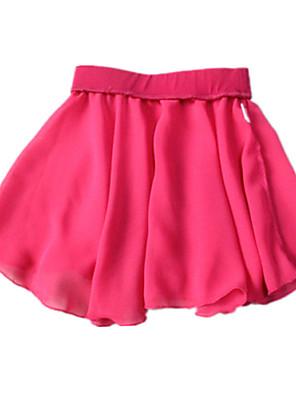 בלט חצאיות בגדי ריקוד נשים / בגדי ריקוד ילדים אימון / ביצועים שיפון חלק 1 חצאית