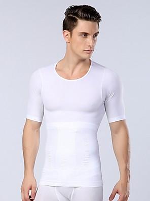 גברים תחתונים תרמיים מחוך של הגברים הגעה החדשים הסקסי ומעצב גוף ההרזיה כושר בטן חולצה ספורט