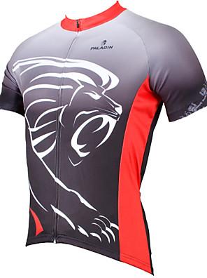 PALADIN® חולצת ג'רסי לרכיבה לגברים שרוול קצר אופנייםנושם / ייבוש מהיר / עמיד אולטרה סגול / דחיסה / חומרים קלים / כיס אחורי / מפחית