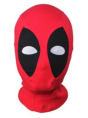 Maska Superhrdina Zentai Cosplay kostýmy Červená Patchwork Maska Lycra / elastan Unisex Halloween / Vánoce