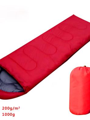 שק שינה שק שינה מלבני כותנה חלולה 900גרם צעידה / קמפינג / דייג / לטיילחדירות ללחות / עמיד ללחות / נשימה / Keep Warm / מלבני / מזג אוויר