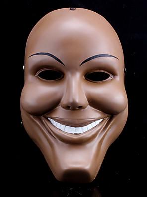 Halloween Props Duch / Zombie / Upír / Filmové a TV kostýmy Festival/Svátek Halloweenské kostýmy Hnědá MaskaHalloween / Vánoce / Karneval