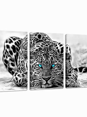 allungato gruppo tela stampata visivo star®abstract animale arte della parete pronta per essere appesa