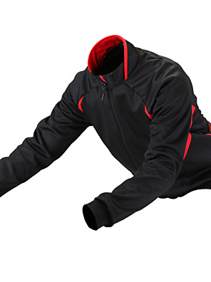 Getmoving® Cyklo bunda Unisex Dlouhé rukávy Jezdit na koleVoděodolný / Prodyšné / Anatomický design / Zateplená podšívka / Odolné vůči