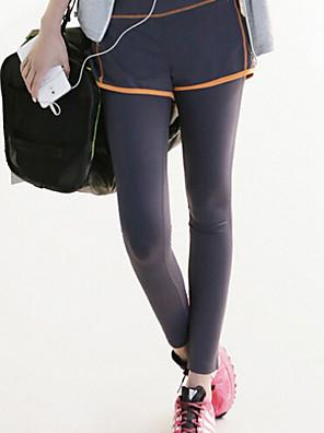 Hardlopen Kleding Onderlichaam / Broeken / Fietsen Tights Dames Ademend / Sneldrogend / Compressie / Zweetafvoerend Yoga / Fitness
