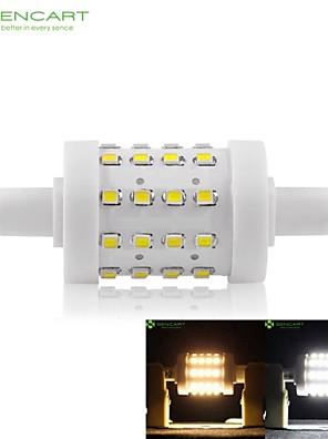 8W R7S LED-maissilamput Upotettu jälkiasennus 36 SMD 2835 700-800 lm Lämmin valkoinen / Kylmä valkoinen Himmennettävä AC 85-265 V 1 kpl