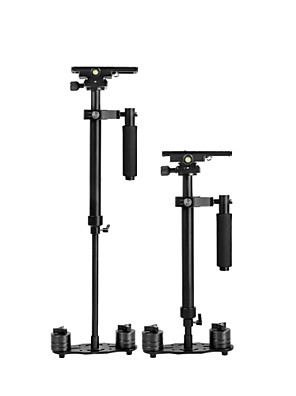 yelangu® 60cm handheld stabilizátor, fotoaparát stabilizátor Steadicam pro Videokamera DV digitální zrcadlovky (černá)