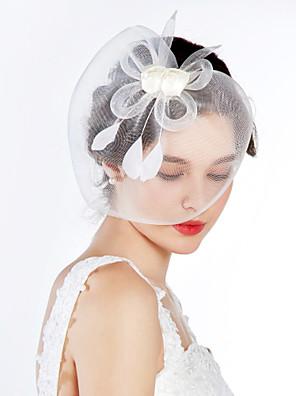 Mulheres Tule Capacete-Casamento / Ocasião Especial Fascinador