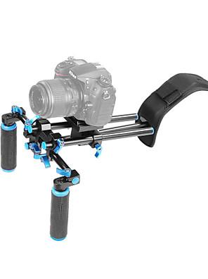 yelangu® dslr skulder mount support rig med kamera / videokamera mount skyderen, skulder lift sæt.