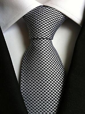 עניבת צווארון וינטאג' / חמוד / מסיבה / עבודה / יום יומי,גברים פוליאסטר