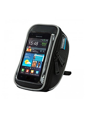 ROSWHEEL® תיק אופניים 1.2LLטלפון נייד תיק / תיקים לכידון האופניים עמיד למים / ניתן ללבישה / מסך מגע / טלפון/Iphone תיק אופנייםעור PU / פי