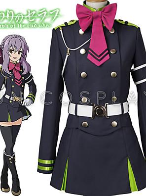 Seraph konce Owari žádný serafu shinoa hiragi outfit jednotné oblečení cosplay kostým