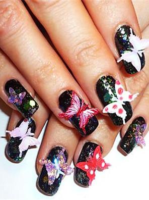 Smuk - Finger / Tå - 3D Negle Akryl Forme / Negle Smykker - 4*2 - 1pcs