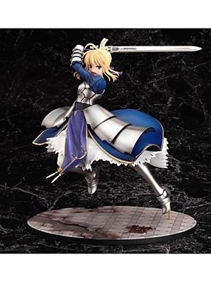 Fate/stay night Saber PVC Anime Čísla akce Stavebnice Doll Toy