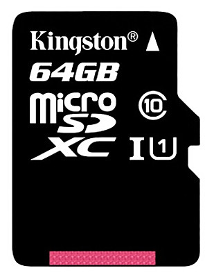 Kingston originale classe 64gb 10 micro scheda di memoria di TF SD flash microSDHC ad alta velocità genuina