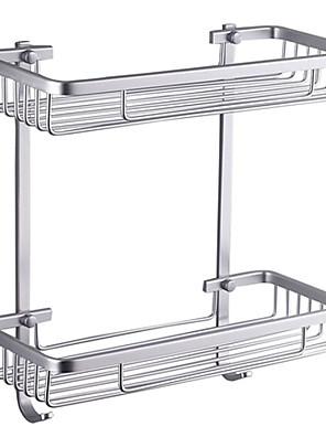 "Badkamerplank Aluminium Muurbevestiging 370 x 313 x 140mm (14.6 x 12.3 x 5.5"") Aluminium Modern"