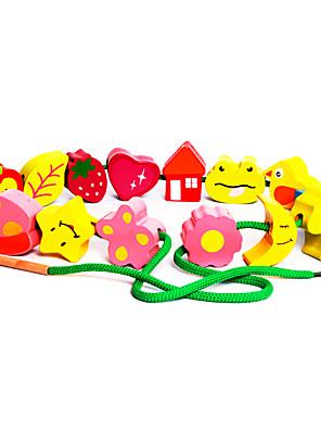 træ dyr perle for børn (3-6 år)
