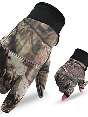 Unisex Handschoenen Recreatiesport Houd Warm / Draagbaar / Anti-Slip Voorjaar / Herfst / Winter Camouflage-Sportief-M / L / Xl