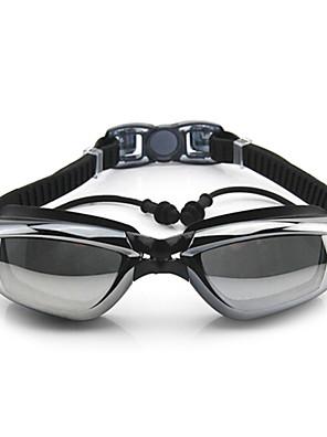 FEIUPE svømmebriller Dame / Herre / Unisex Anti-Tåge / Vandtæt / Justerbar Størrelse / Anti-UV Silika Gele PC Hvid / Grå / Sort / Blå