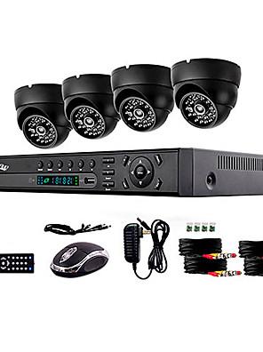liview® 900tvl indoor dag / nacht bewakingscamera en 4 kanaals HDMI-960H-netwerk DVR-systeem