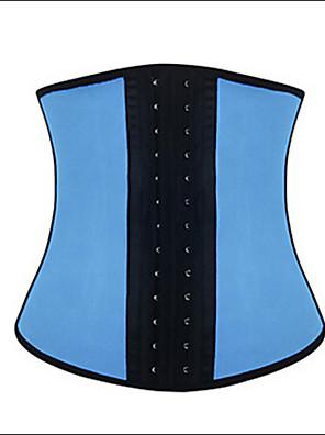 Ženy Korzet pod prsa Noční prádlo Jednobarevné-Spandex / Modal Modrá / Růžová Dámské