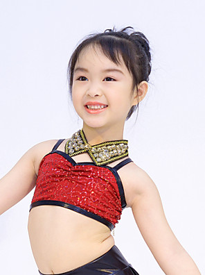 אביזרי ריקוד אביזרי לבוש לצוואר בגדי ריקוד נשים / בגדי ריקוד ילדים ביצועים קלקר קריסטלים / rhinestones חלק 1 Neckwear