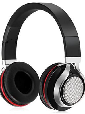 on-the-ear stereo blueooth trådløse hovedtelefoner computer headset med aux lydkabel fm radio hifi støjreducerende