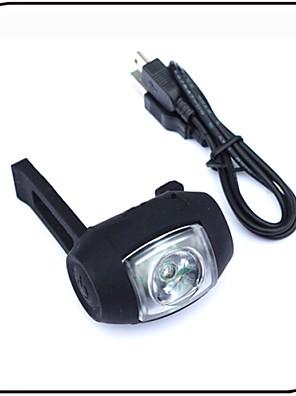 Iluminação Luzes de Bicicleta LED 240 Lumens 2 Modo LED Bateria de Lítium Prova-de-Água / Recarregável Ciclismo Borracha
