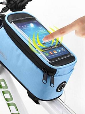 ROSWHEEL® Cyklistická taška 〈10LLBrašna na rám / Brašna na řídítkaVoděodolný / Odolné vůči dešti / Voděodolný zip / Odolné vůči prachu /