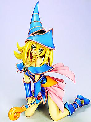 Yu-Gi-Oh בחורת קוסם כהה דמויות פעולת 18cm אנימה צעצוע בובת צעצועי דגם