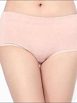אישה אחיד תחתונים סקסיים / ללא תפרים / תחתונים מחטבים(כותנה / פוליאסטר)