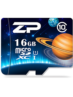 ZP 16GB UHS-I U1 / třída 10 microSD / microSDHC / microSDXC / tfmax číst speed80