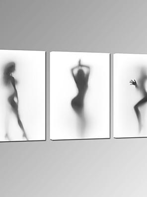 Ritratti / Musica / Patriotico / Moderno / Romantico / Fantasia / Tempo libero / Fotografia / Stravagante Print Canvas Tre PannelliPronto