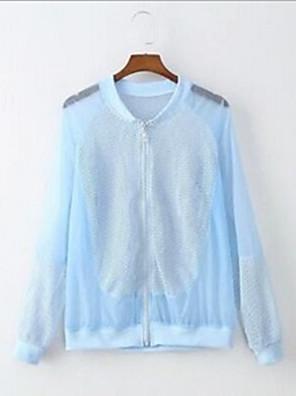 Trilha Blusas Unissexo Respirável / Resistente Raios Ultravioleta Verão / Outono Branco Tamanho livreAcampar e Caminhar / Exercicio e